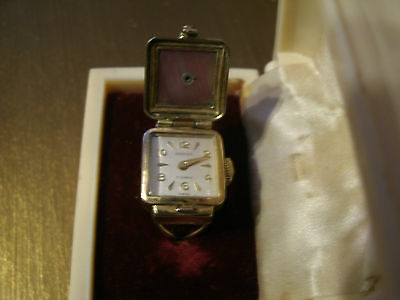 Vintage Rolled Gold Ring Watch