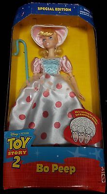 Rare Disney Toy Story 2 Bo Peep Barbie Doll Collectable Figure New Mattel in Box