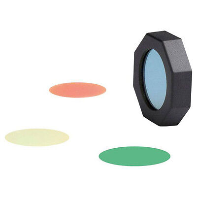 LED Lenser Anti-Roll Filter Set - Red, Yellow, Blue, Green Filters