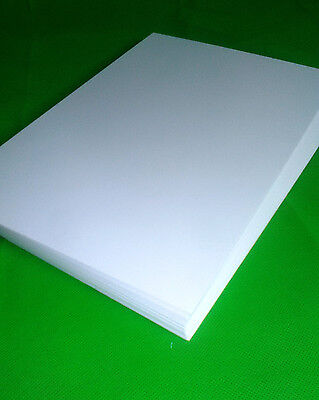 "PREMIUM BLANK CARDSTOCK 250 GSM A4 x 20 ""SMOOTH WHITE"" - NEW"