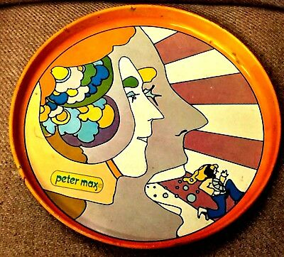 Vintage Peter Max tray
