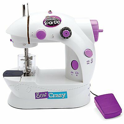 Shimmer N Sparkle - Sew Crazy Sewing Machine
