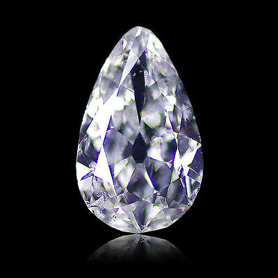 Diamant / Diamond (H, SI2) en poire/pear - 1,28 CT - EXCEPTIONNEL !!!