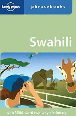 Swahili (Lonely Planet Phrasebook) by Martin Benjamin Paperback Book The Cheap
