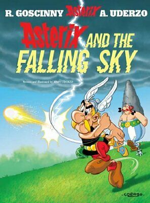Asterix And The Falling Sky: Album 33, Albert Uderzo Hardback Book The Cheap