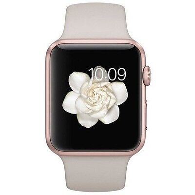 Apple Watch Sport 42mm Rose Gold Aluminum Case (with Sport Band)