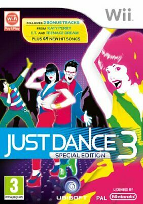 Just Dance 3 (Special Edition) (Wii) - Game  ESVG The Cheap Fast Free Post