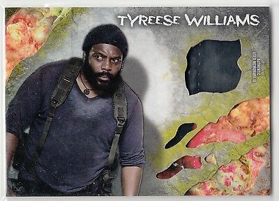 2016 Walking Dead Survival Relic Infected Chad L. Coleman as Tyreese 37/99