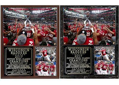 quality design 28832 bc7a4 Wisconsin Badgers 2017 Cotton Bowl Classic Champions Plaque