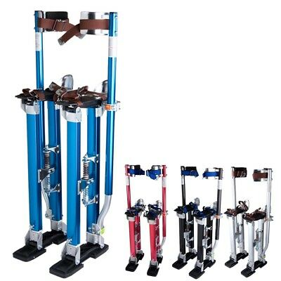 "24-40"" Plastering Stilts Large Size Aluminum Drywall Tools Painter Builders"