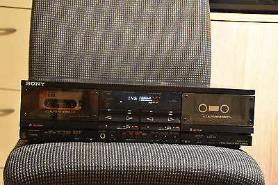 SONY TC-WR 900 tapedeck, kassettedeck TOP HIGH END