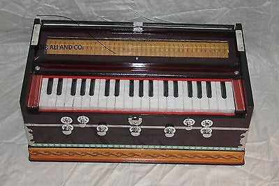 *BUY HARMONIUM*PETI~ *OCTAVE~7* STOPPER~BASS/MALE REED~440 Hz.MULTI FOLD BELLOW