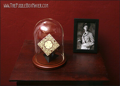 Glass Dome, Base and Stand for a Hellraiser Puzzle Box - Lament Configuration