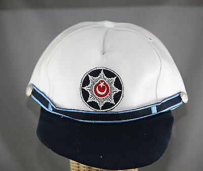 Obsolete Genuine Turkey National Police Cap With Patch