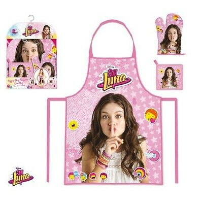 Set tablier de cuisine 3 pieces Soy Luna