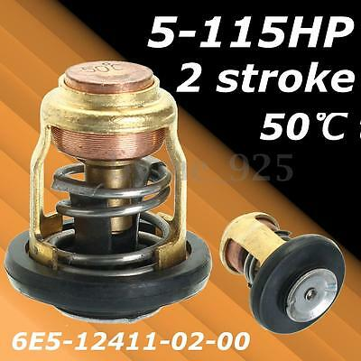 50 Degree 2 Stroke Outboard Thermostat for Yamaha/Honda Outboard Marine 5-115HP