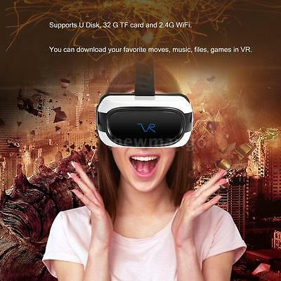 All-in-One VR Headset Android 5.1 Quad Core 8GB Virtual Reality 3D Glasses WiFi