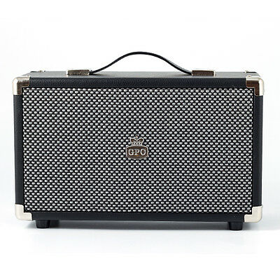 GPO Retro Vintage Style Westwood Speaker - Available in 5 Colours - Black