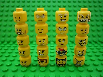 Lego Selection/Collection of Minifigure Heads x 20 (Lot 27)