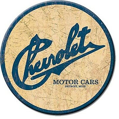 Chevrolet Motor Cars round fridge magnet   75mm diameter  (de)