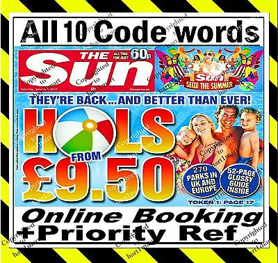 The Sun Holidays Priority Reference + 10 Code words ⇛ Everything Needed to Book