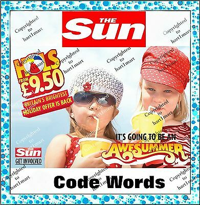 The Sun Holidays ⇛ Super FAST ⇛ online booking Token Code words  cheap holiday