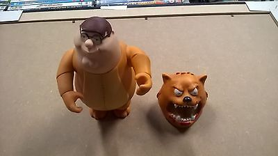 Family Guy Peter Griffin No Trash Cougar Figure Rare Free Uk Postage