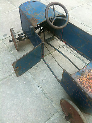WOW! Rare Antique STEIFF Pedal Car 1935 - Unrestored LITTL MOBIL