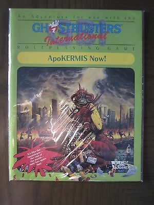 Ghostbusters International ApoKERMIS Now! RPG Roleplaying Game LN