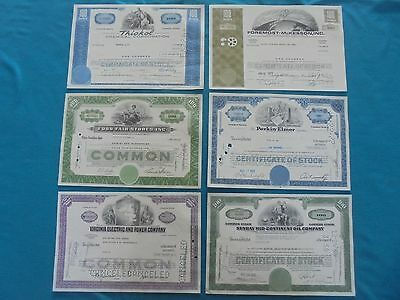 Dealers Massive Mixed World Lot Of Bonds, Stocks, Shares. Very Old & Rare!