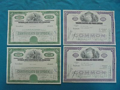 Dealers Lot Of Bonds,stocks, Shares. Consecutive No's X 2 Sets 1960 & 1973