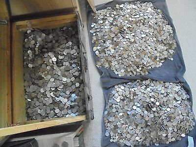 100 X Coins Mixed Lot Collection Of Polish Communist Coins. Getting Rarer!