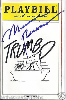 """Michael Richards in """"Trumbo"""" Autographed Palybill"""