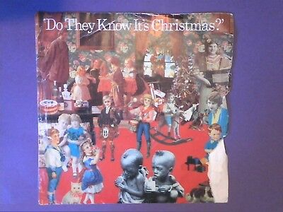 "Band Aid - Do They Know It's Christmas? (1984) [7"" single] picture sleeve FEED 1"