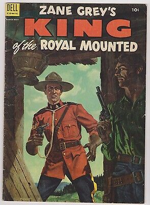 Zane Grey's King of the Royal Mounted #15, Fine Condition.