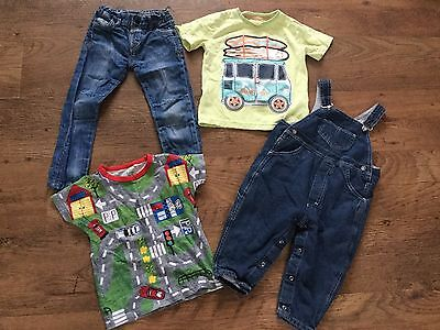 SMALL BUNDLE OF BOYS CLOTHES AGE 18-24m/2-3 YRS