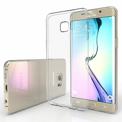 Premium Clear Silicone TPU Gel Case Cover For Samsung S6