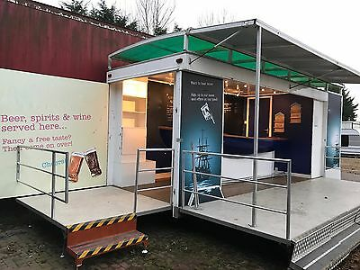 Mobile Bar Unit Catering Trailer Business