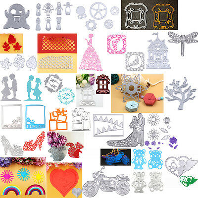 Metal Cutting Dies Stencil For DIY Scrapbooking Embossing Paper Album Card Decor