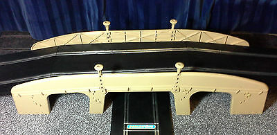 Scalextric Tri-ang Vintage 1960s A229 GRANDE BRIDGE for 2 lanes (LOVELY) English