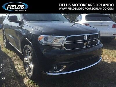 2014 Dodge Durango  2014 Dodge Limited
