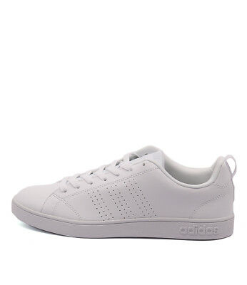 New Adidas Neo Advantage White White Whi Mens Shoes Casual Sneakers Casual