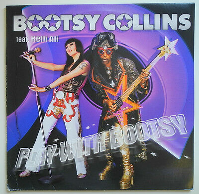 """2 x 12"""" EU**BOOTSY COLLINS FEAT. KELLI ALI - PLAY WITH BOOTSY (EASTWEST)***16743"""