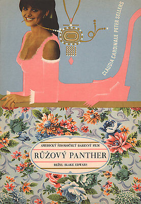 The Pink Panther 1966 Czech A3 Poster