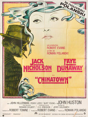 Chinatown 1974 French Grande Poster