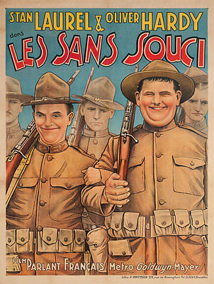 Pack Up Your Troubles 1932 Belgian A1 Poster