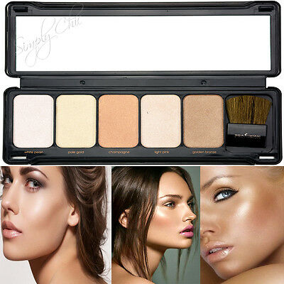 Profusion Highlight Face Glow Palette Highlight, Bronzers & Contour- Simply Chic