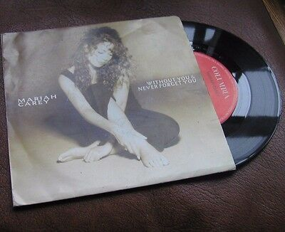 "MARIAH CAREY 7"" single WITHOUT YOU (1994)"