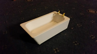 1/12 Modern + Pretty Little Bath Wooden Dollhouse Miniature Bathroom Brand New