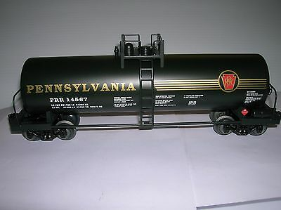 """Lionel """"PRR"""" Tank Car from a special Hobby Shop Exclusive Set  lot #10129"""